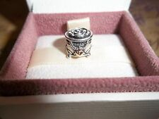 Genuine Authentic Pandora in Argento e PORTAGIOIE ORO 14ct Charm 791019