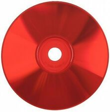 500-Pak Spin-X =Silver/RED= 48X 80-Min CDR's, RED Colored Record Surface