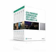 2DAY SHIPPING | CFA Program Curriculum 2017 Level I, Volumes 1 - 6 (C, PAPERBACK