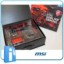 Placa base X99 MSI X99A GODLIKE GAMING Socket 2011 V3 con Accesorios