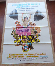 The Strongest Man in the World Movie Poster, Original, Folded, One Sheet, 1975