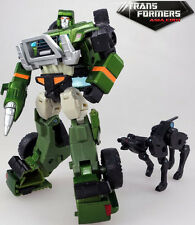 Takara Transformers Henkei Exclusive G1 Generations Metallic Chrome Hound Loose