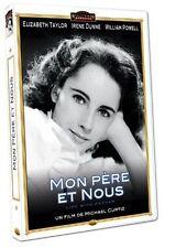 28121//MON PERE ET NOUS ELIZABETH TAYLOR DVD NEUF