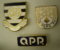 3 x Football Enamel Lapel Pin Badges QUEEN'S PARK RANGERS FOOTBALL CLUB Lot No7