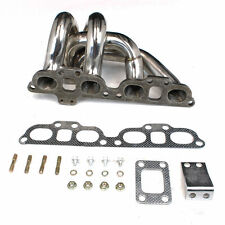 Lower Mount T25 Stainless Steel Manifold FIT 89-98 Nissan S13 S14 240SX SR20DET
