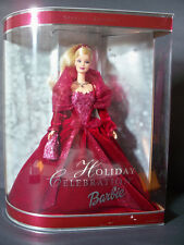 NIB BARBIE DOLL 2002 HOLIDAY CELEBRATION