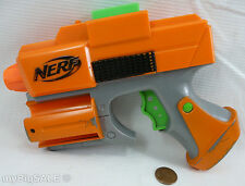 Nerf Strikefire Pistol Dart Tag Gun Blaster Orange Green Small Retired 2005
