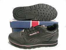 REEBOK CLASSIC  LEATHER T SE LOW SNEAKERS MEN SHOES BLACK 1-113619 SIZE 9.5 NEW