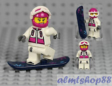 LEGO Series 3 - Snowboarder 8803 Collectible Minifigure Skier Female Girl CMF