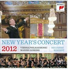 Mariss Jansons & Vienna Philharm: New Year's Concert 2012  Audio CD