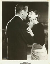 silver gelatin unique print AUDREY HEPBURN and HUMPHREY BOGART in Sabrina 1954