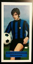 ITALIA-INTER-ROBERTO BONINSEGNA-punteggio UK Football commercio CARD