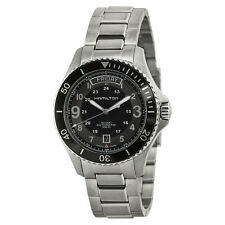 Hamilton Khaki King Scuba Black Dial Automatic Mens Watch H64515133