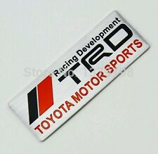 TRD Sports Embossed Metal Badge Sticker  for Toyota 86 Corolla Yaris supra camry