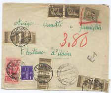 R.S.I. ECCEZIONALE TASSATA  9/7/1945 - GRANDE RARITA' - BASE BASSISSIMA...!!!!