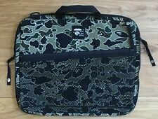 100% authentic Bape Psyche Camo Laptop Case MacBook Pro Duffle Bag Backpack #856