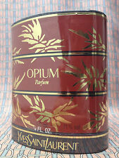 Vintage 1980s Opium 1/4 oz 7.5 ml Pure Parfum Yves Saint Laurent - FIRST FORMULA