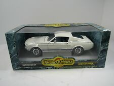 Ertl 1967 Ford Mustang GT 1:18 American Muscle Diecast Car White NIB
