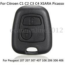 Carcasa Case Llave For Citroen C1 C2 C3 C5 Xsara Picasso/Peugeot Funda Mando Key