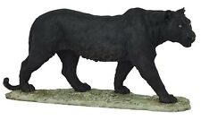 "17"" Black Panther Statue Figurine Safari Wildlife Wild Cat Animal Figure Nature"