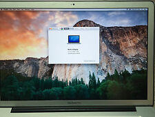"Apple MacBook Pro Mid 2010 A1286 Core i7 2.6GHz 15"", 8GB RAM, 500 SSD, HD screen"