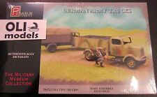 1/72 German Army Trucks (Mercedes L3000) - 2 KITS SET - Pegasus 7610