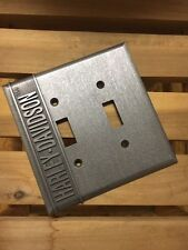 Harley-Davidson H-D® AUTHORIZED SERVICE DOUBLE SWITCH PLATE COVER