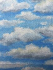 RPE692X Clouds Sky Sunshine Clouds Blue Sky Cotton Fabric Quilt Fabric