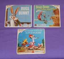 BUGS BUNNY, BEEP BEEP THE ROAD RUNNER, QUICK-DRAW MCGRAW VIEW-MASTER REELS lot