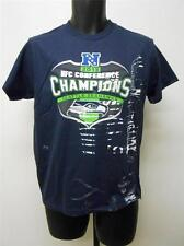 NEW-FLAWED Seattle Seahawks SUPER BOWL CHAMPS YOUTH LARGE SIZE 14/16 Shirt 54PY