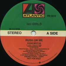 NU GIRLS Rush On Me (1989 U.S. 3 Track Promo 12inch)