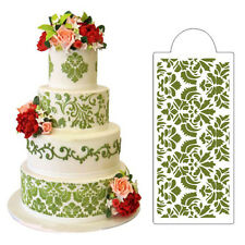 Damask Cake Stencil Coffee Milk Cupcake Decoration Template Mold DIY Spray Mould