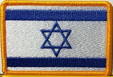 ISRAEL Flag Patch With VELCRO® Brand Fastener  Military Police Emblem #90