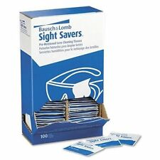 Bausch & Lomb Sight Savers Pre Moistened Lens Cleaning Tissue - 100 Per Box -