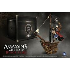 Assassini CREED 4 IV CAPTAIN KENWAY JACKDAW figura con RARA NERO SCATOLA Petto