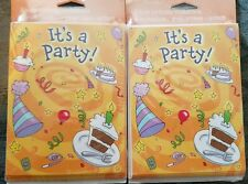 2 packs of Tender Thoughts Boys or Girls Birthday   invitation cards Party Time