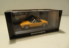 Porsche 914 1969 - 1973 orange Minichamps 1:43