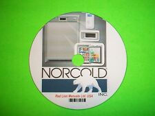 Norcold Gas/Electric RV Refrigerator Model 1200XX, 120X-IMXX Service Manual