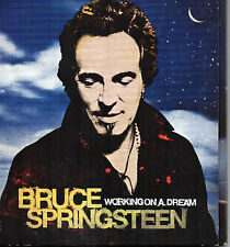 "BRUCE SPRINGSTEEN - Working ""On A Dream,, CD + DVD Limited Edition 2009 DIGIPAK"