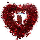 NEW Tinsel Mother's Day Hanging wedding Door Wreath Room Home Wall Decoration