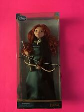 "NEW DISNEY STORE DISNEY'S PIXAR BRAVE MERIDA DOLL BOW ARROW 11"" DOLL"