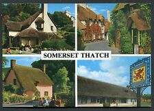 Dated 1998. Four Views of Thatched Cottages in Somerset - Dunster, Taunton