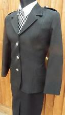 """NEW GENUINE WPC Police Woman Officer black uniform Jacket  40""""  70s 80s size 12"""