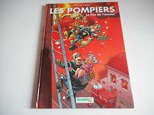 LIVRE BD - LES POMPIERS. LE FEU DE L'AMOUR N° 3 - CAZENOVE