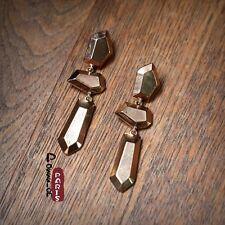 Boucles d`Oreilles Art Deco Irregulier Retro Style Original Mariage Cadeau DD 2