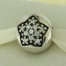 Authentic Pandora 791056CZ You're A Star Clip CZ Sterling Silver Bead Charm