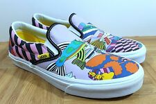 Vans Classic Slip On - The Beatles Sea of Monster Men's Skate Shoes SIZE 11