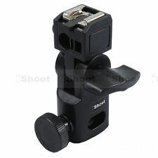 Hot Shoe Mount Flash Bracket/Umbrella Holder for Canon Nikon Metz &Sony HVL-F60M