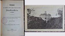 Kerber -Geschichte of the Castle & the free State-reign Fürstenstein xz