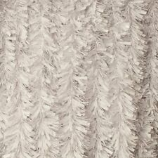 Tinsel white Chunky Cut White Luxury Tinsel Christmas Tree Decoration by Nill 2m